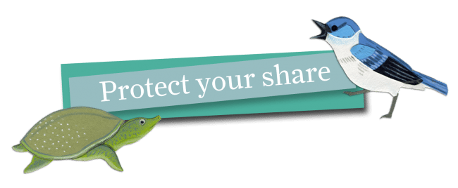 Click here to Protect Your Share