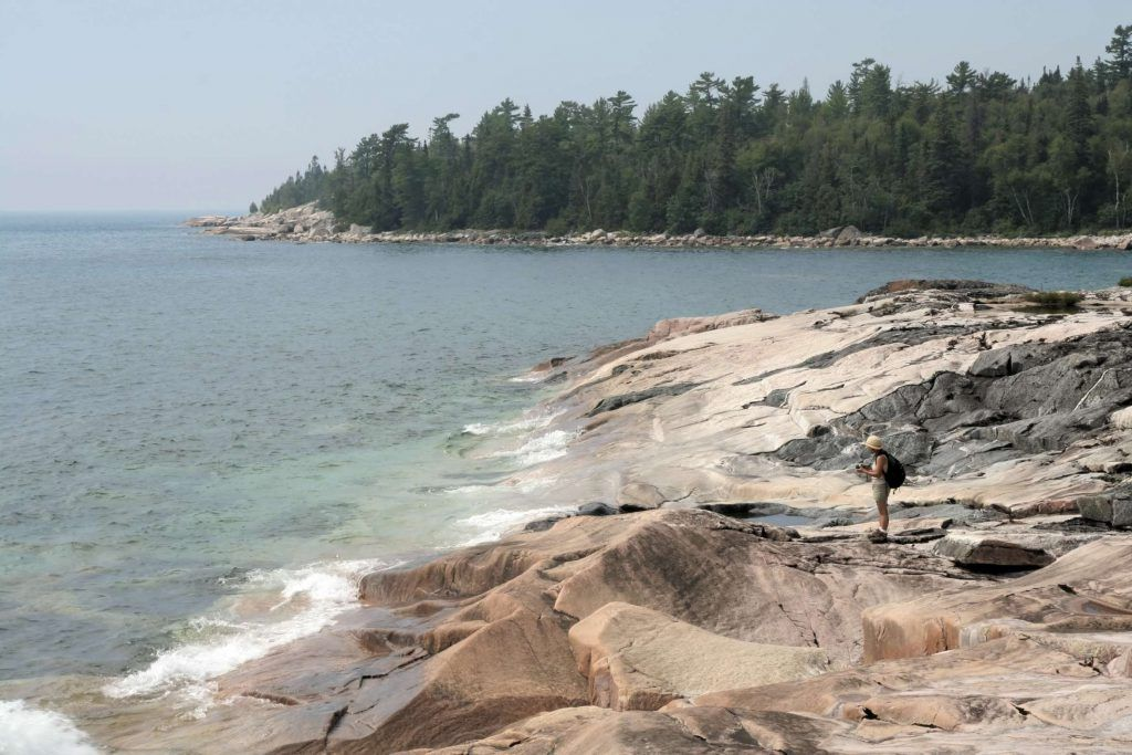 Lake Superior Provincial Park shoreline