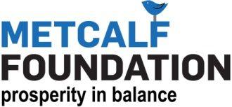 Metcalf Foundation logo, prosperity in balance