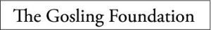 The Gosling Foundation logo