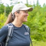 Kirsten Dahl at Ontario Nature's Lyal Island Nature Reserve