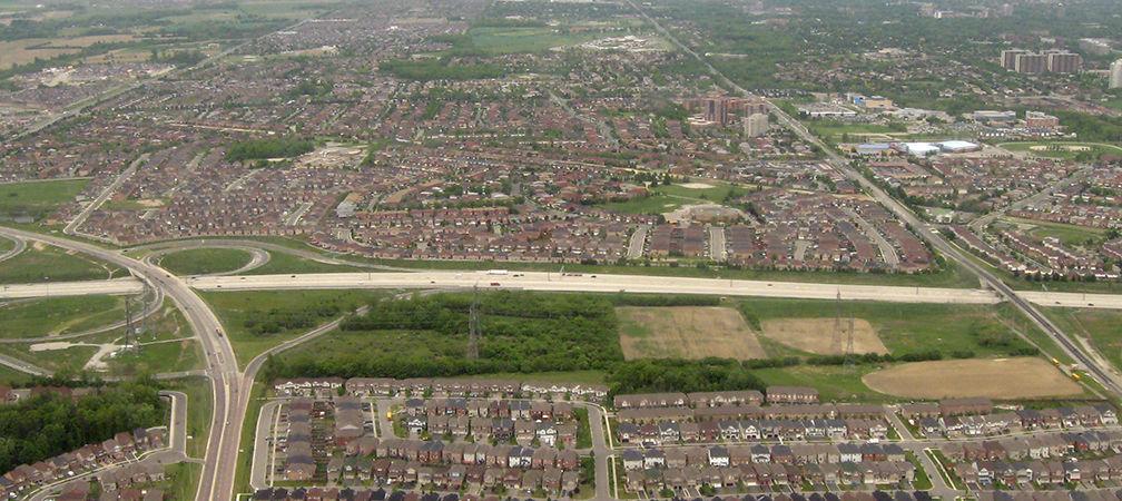 Toronto-area sprawl