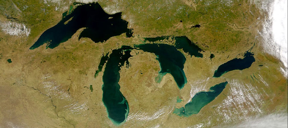 Great Lakes algal blooms