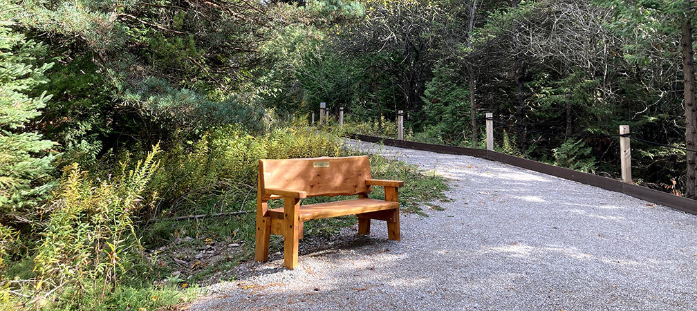 Accessible trail, Cawthra Mulock Nature Reserve, Newmarket