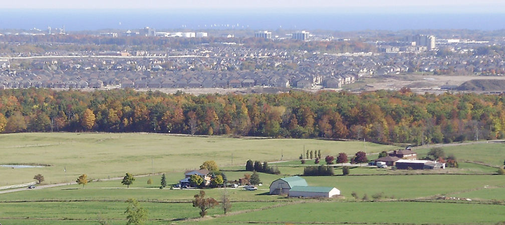Sprawl seen from Mount Nemo Conservation Area