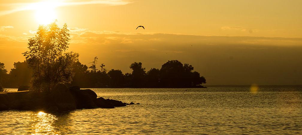 Jacksons Point sunset, Lake Simcoe