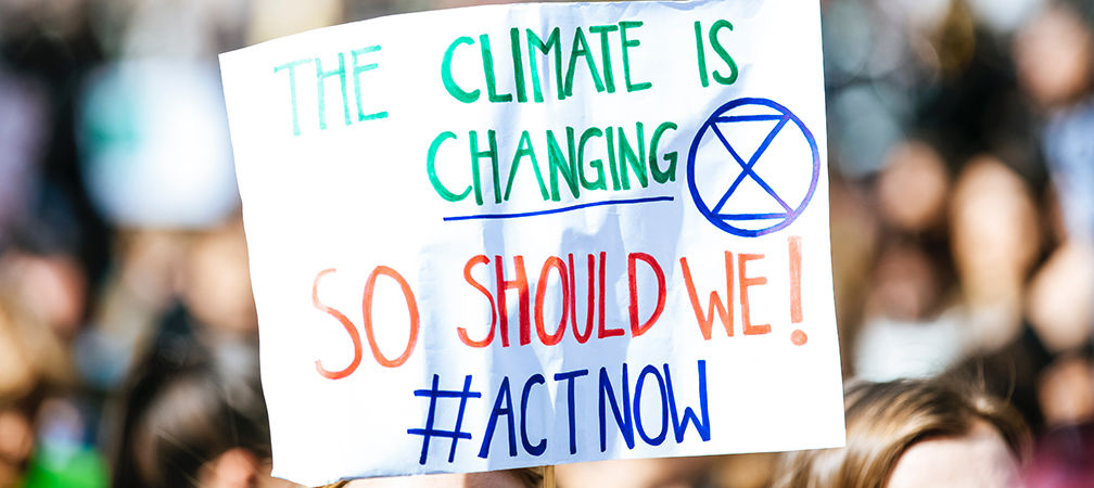 The Climate is Changing, So Should We sign
