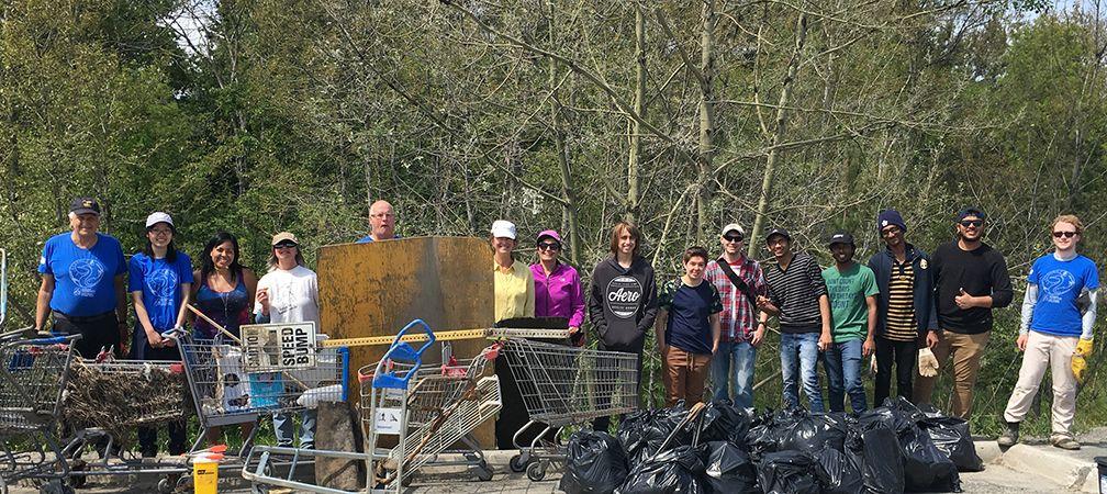 Sudbury watershed cleanup, Junction Creek Stewardship Committee