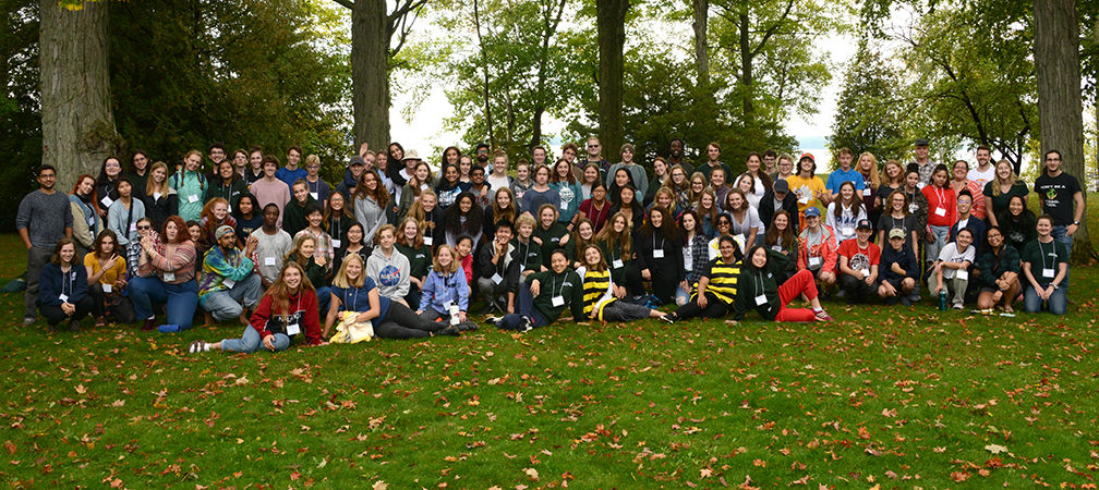 Youth Summit for Biodiversity and Environmental Leadership 2019 group photo