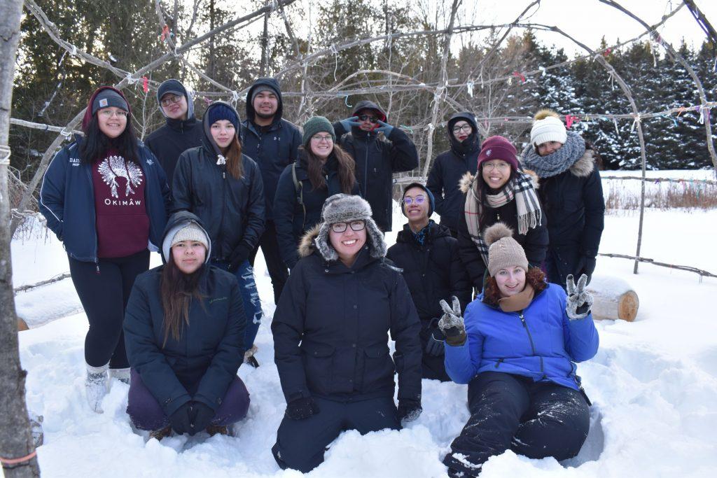 Youth Retreat Group Photo