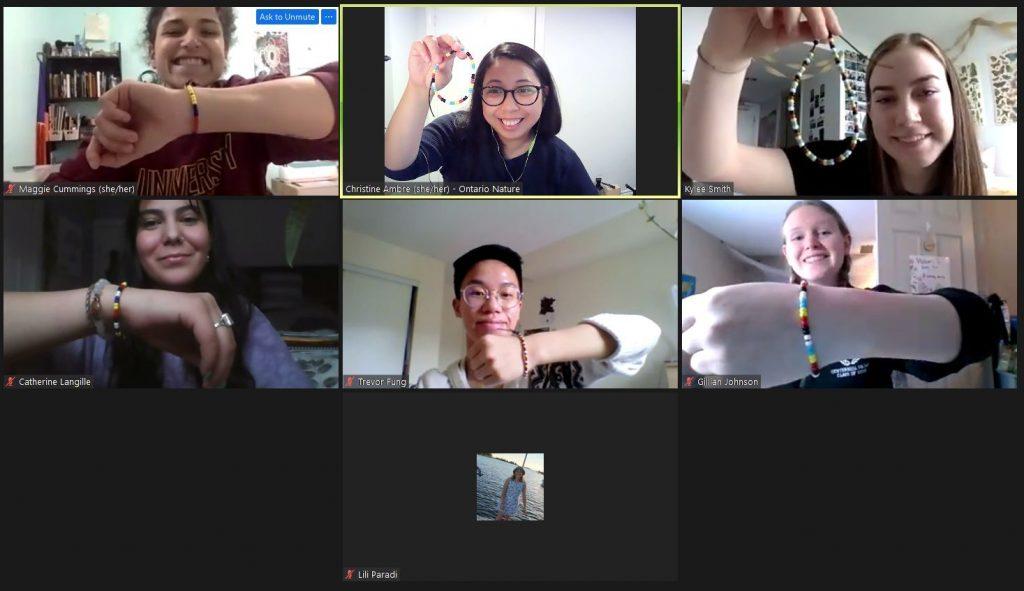 Virtual Youth Retreat Screen Shot