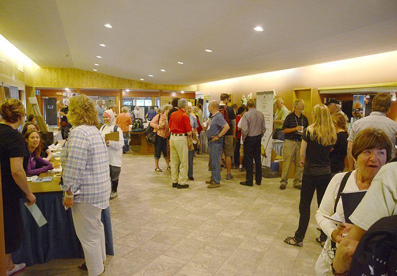 Reception, 2014 Annual Gathering, YMCA Geneva Park