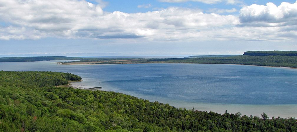Neyaashiinigmiing Unceded Lands, Saugeen Peninsula