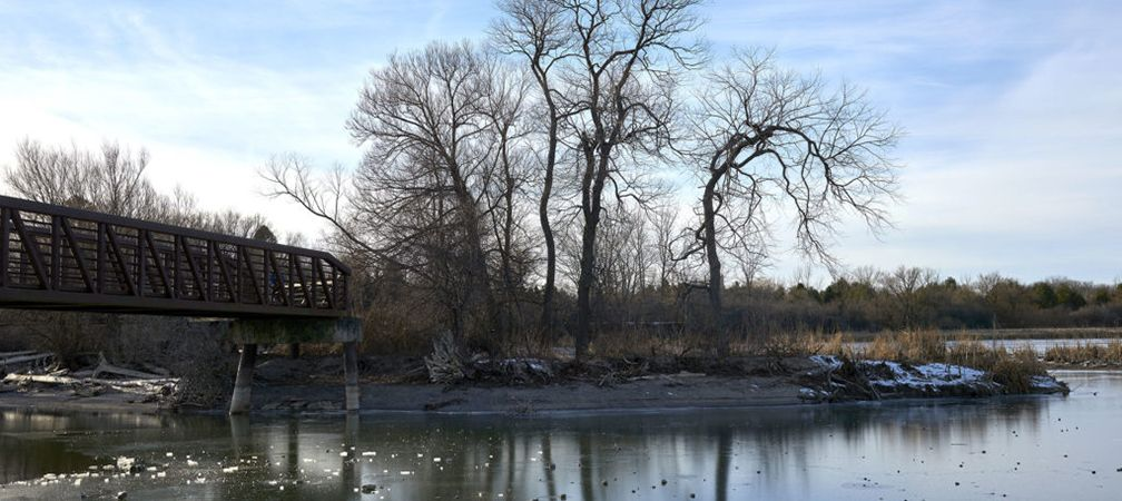 Mouth of Duffins Creek at Lake Ontario