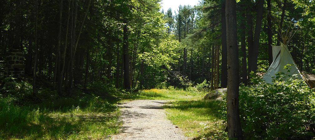 Mahzenahzing Access Route, Point Grondine Park