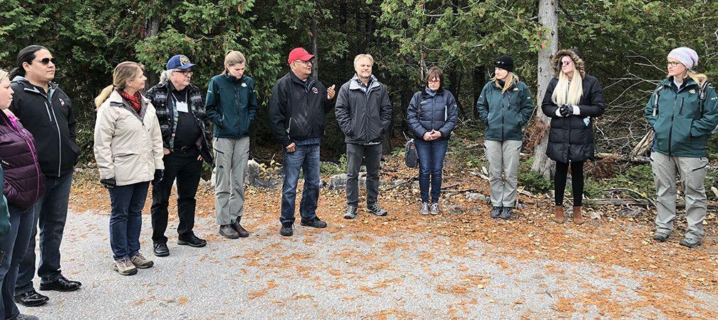 Protected Places Workshop participants, Saugeen Peninsula