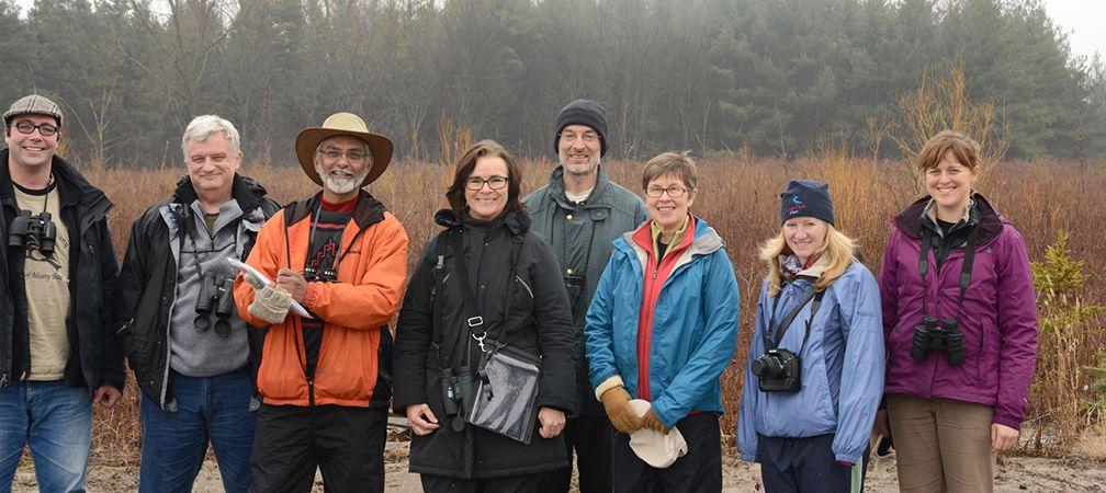 Rouge Park Winter Bird Count participants, volunteers, community science