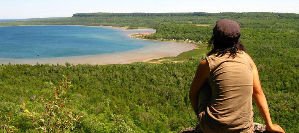 Neyaashiinigmiing, unceded lands, Saugeen Peninsula