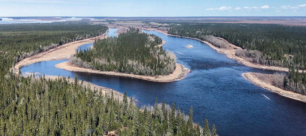 North French River