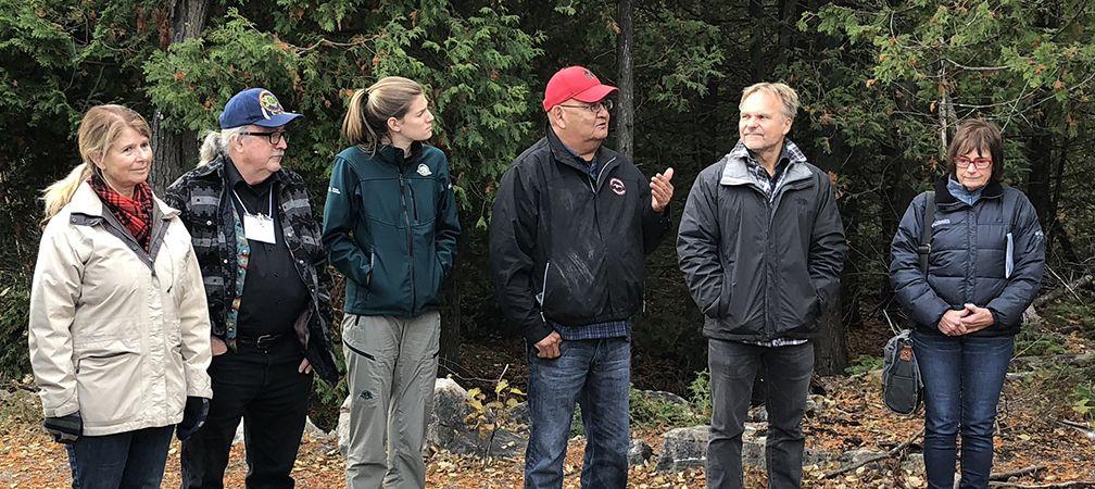 Protected Places Workshop, October 2018, Saugeen Peninsula