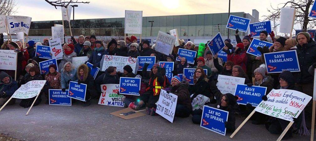 Stop Bill 66 Rally, Ajax